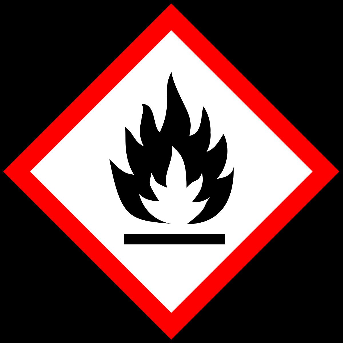 Gefahr Entflammbar
