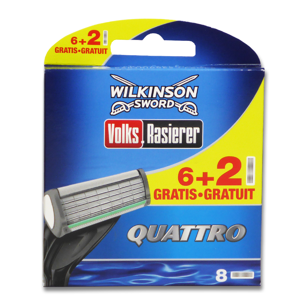 Wilkinson Quattro Plus Rasierklingen