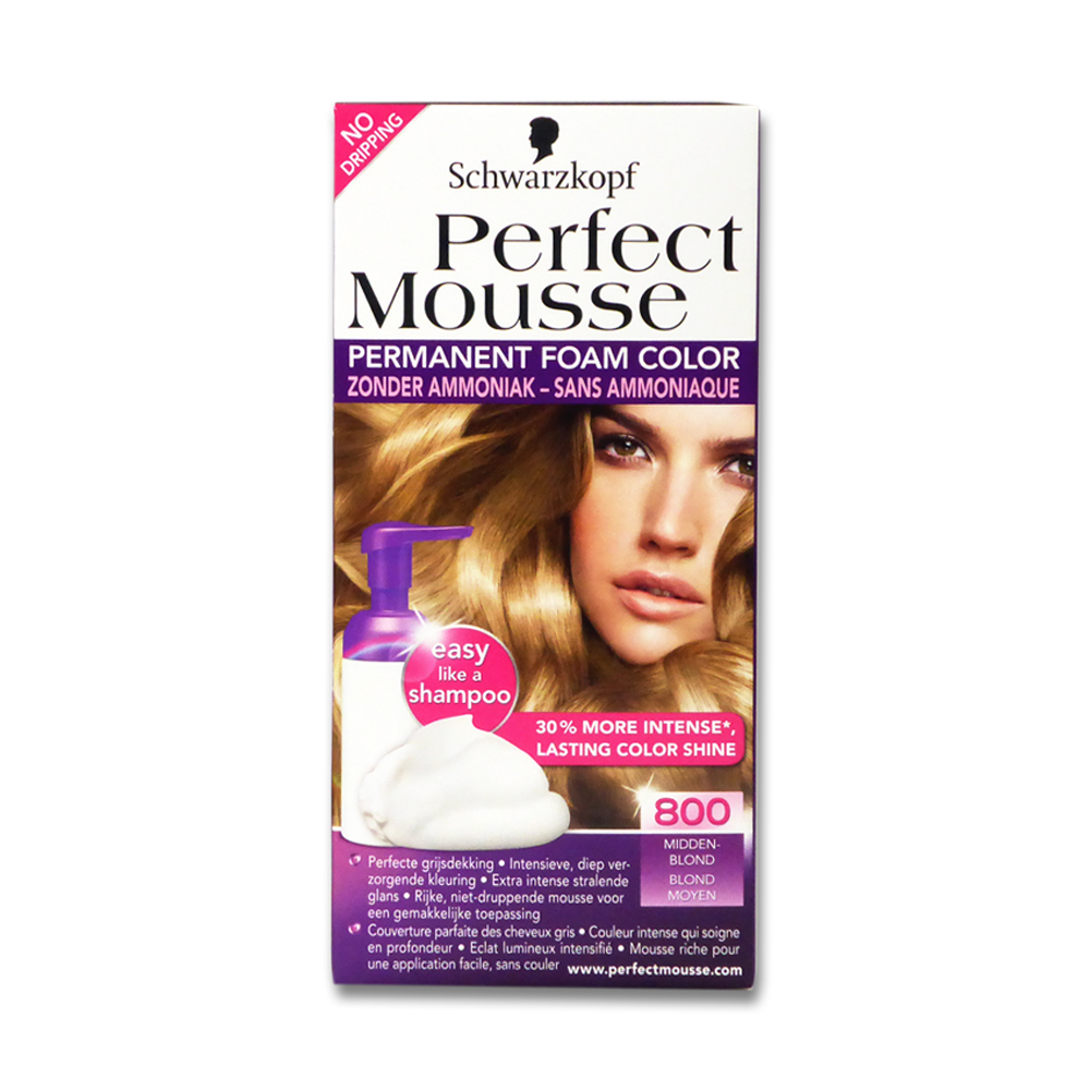 Schwarzkopf Perfect Mousse Schaumcoloration 800