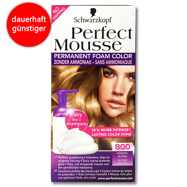 Schwarzkopf Perfect Mousse Schaumcoloration