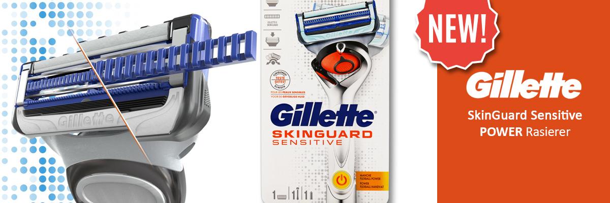Gillette SkinGuard Sensitive Power Razor