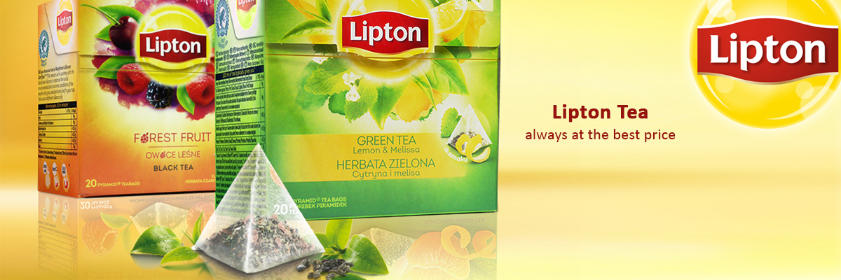 Lipton Tea always at the best price