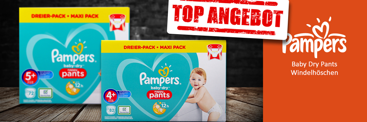 Neu bei uns: Pampers Baby Dry Pants