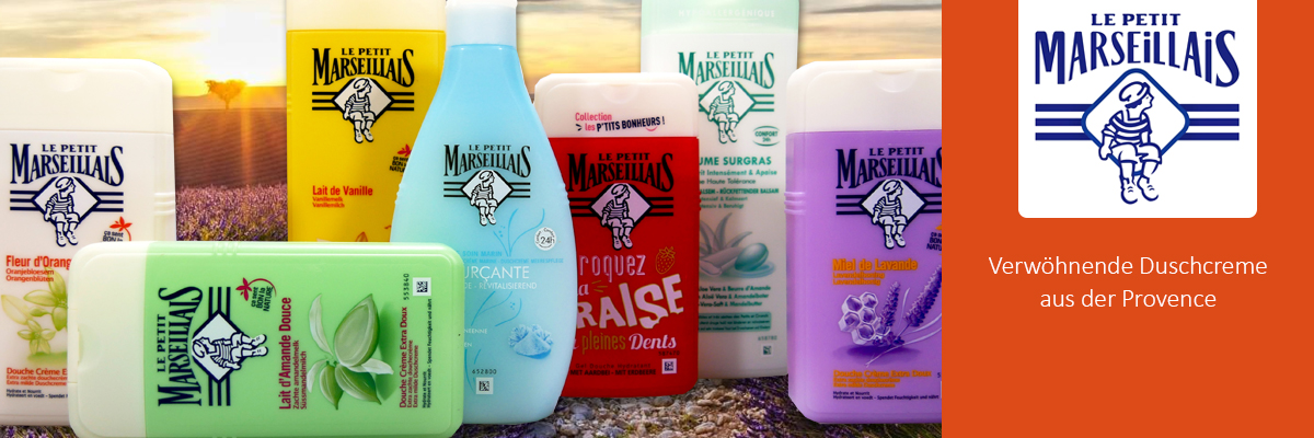 Le Petit Marseillais shower cream
