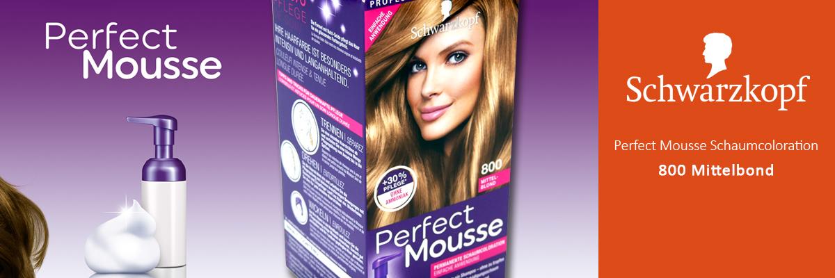 Schwarzkopf Perfect Mousse 800 Medium Blonde
