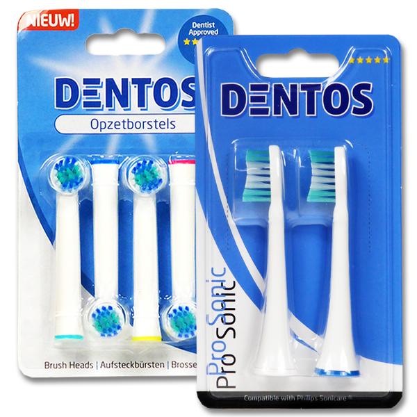 Dentos Aufsteckbürsten